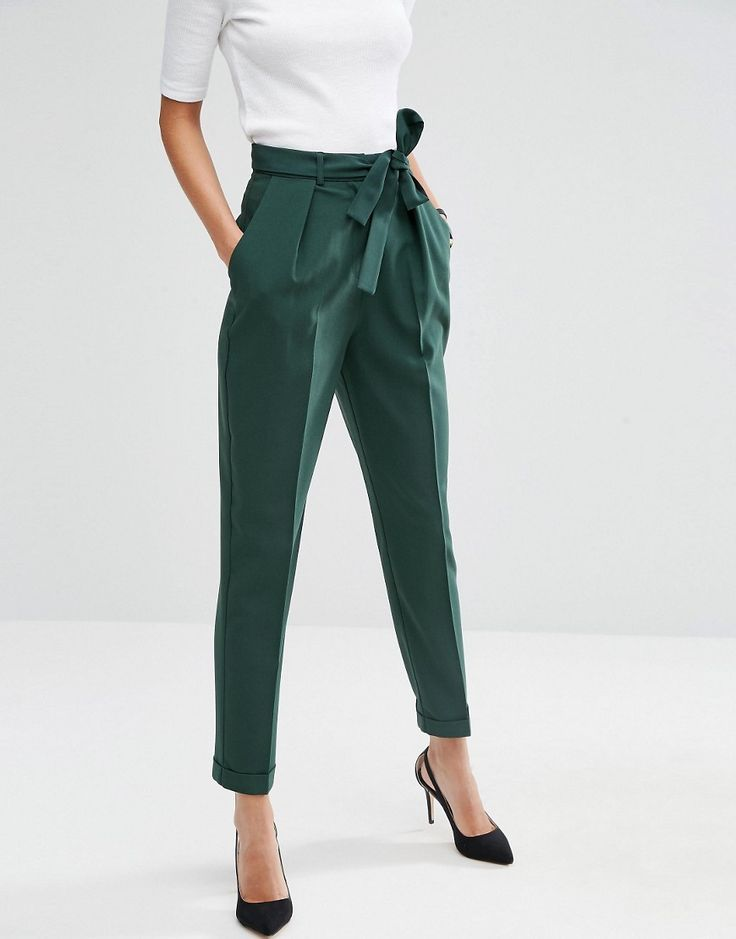 Image result for pinterest work wear high waisted pants